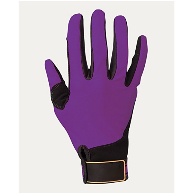 Purple Customized Riding Gloves