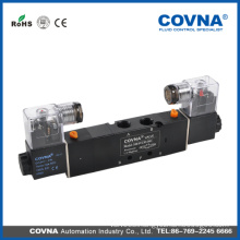 4V230-08C series 12v 5 way air solenoid valve