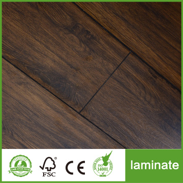 Suelo laminado de roble de 12 mm