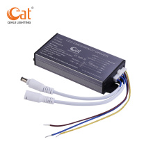Lithium ion battery emergency driver for panel LED