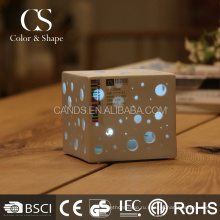 Новый дизайн благородный и элегантный квадратный свет исследование настольная лампа