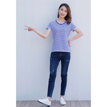 New short-sleeved cotton round neck t-shirt