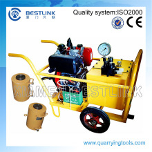 Hydraulic Block Push Machine for Quarry