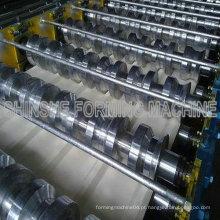 Máquina de formação de rolos Máquina de telhado de metal