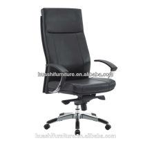 H626 новый дизайн кожа высокая спинка стул