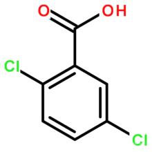 2, 5-Dichlorobenzoic кислоты КАС № 50-79-3 2, 5-Дихлор-Benzoicaci