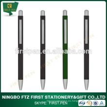 Pluma de forma cuadrada bolígrafo promocional de aluminio