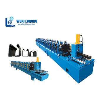 Máquina formadora de canais U para persianas enroláveis de metal
