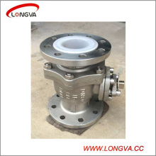 CF8 Stainless Steel Fluorine Lined Ball Valve