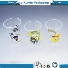Copas de plástico desechables para jugo