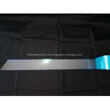 Película reflectante de transferencia de calor segmentada de plata