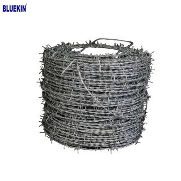 fil de fer barbelé prix par rouleau pour clôture de ferme