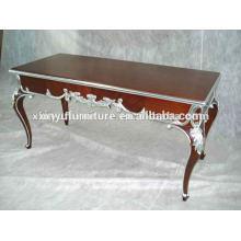 Старинный деревянный резной стол I0002