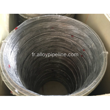 Tube de bobine en alliage de nickel ASTM B704 N08825