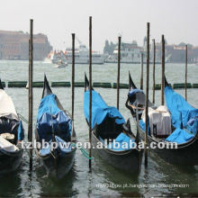 Impermeável & tampa do navio sunproof, PVC revestido