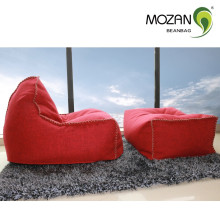 indoor square bean bag ottoman uufilled sectional bean bag