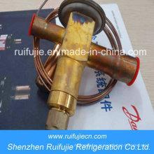 Válvulas de Expansão Termostática Danfoss R404A / R507 / R22 / R134A Ten2