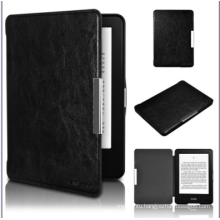 Leather Case 6 Inch E-Reader Book Style Leather Case for Amazon Kindle Voyage