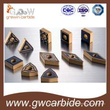 Pastilhas Indexáveis de Metal Duro de Carboneto de Tungstênio