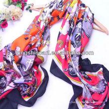 Большой площади полиэстер шарф