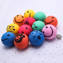 Многофункциональный улыбкой смайлик лице стресс помощи море мяч запястье руки см 6.3 упругий упражнения мяч выжимок отвод мяч игрушка