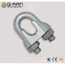 Din741 eléctrico Metal Wire Rope Clip abrazadera-Qingdao aparejos