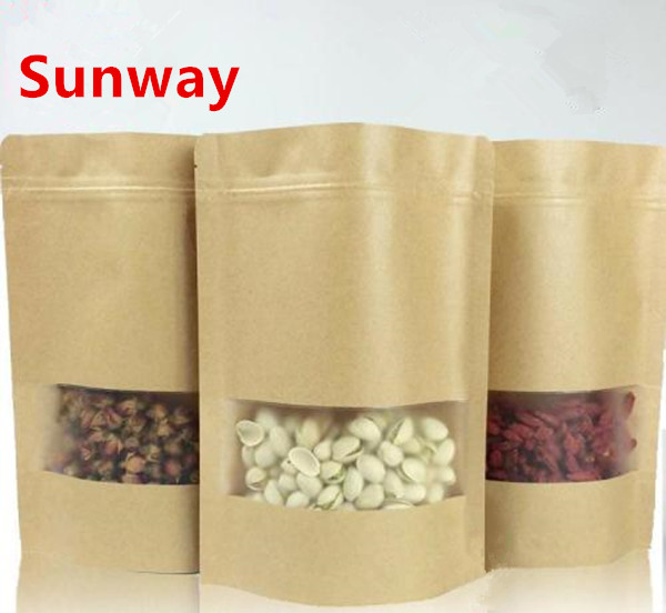 Kraft Bag With Window