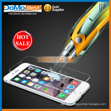 Wholesale 9H hardness 0.33mm 2.5D tempered glass screen protector for iphone 6G