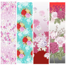 Flower design 100% polyester printed fabric