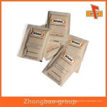 Impresión de huecograbado de calidad alimentaria papel aséptico bolsa de azúcar a prueba de humedad con su diseño