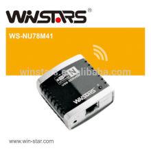 Сетевой сервер USB 2.0 с USB-концентратором, Многофункциональный принтер USB Поддерживает устройства USB 2.0 и 1.1