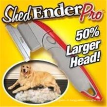 Shed Ender PRO Pet Tool Pinceau pour animaux de compagnie en plastique
