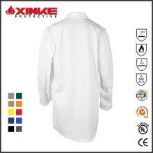 manteau de docteur de coton pour l'hôpital