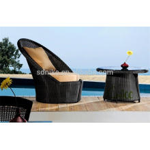 SL-(41) wicker rattan outdoor furniture round high back sofa chair