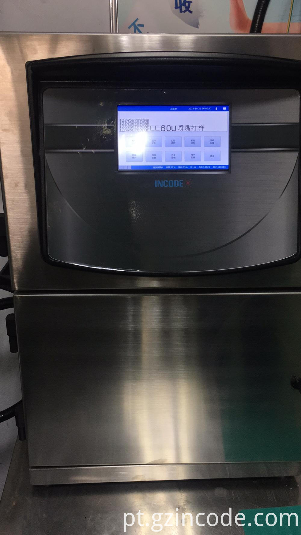 Industrial Inkjet Coding Printer
