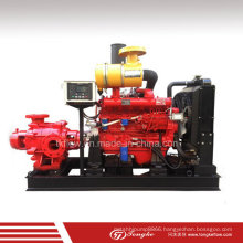 High Pressure Horizontal Multisatge Diesel Engine Fire Fighting Pump