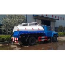 Dongfeng 4X2 160HP Camión de recogida de residuos de aspiración de aguas residuales