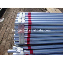 tianjin en39 galvanized pipe/galvanized pipe