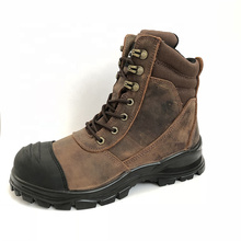 Australia High Quality Genuine Leather Men Safety Shoes Men's Boots s1 s2 s3 CE Certified Safety Shoes