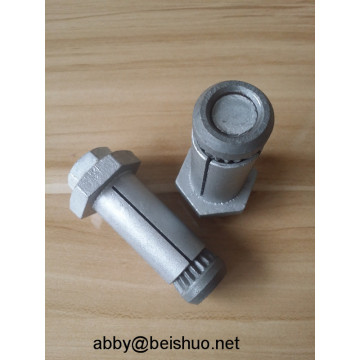 M12 Carbon Steel Hot Galvanized Boxbolt Blind Bolts