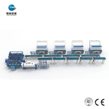 Línea automática de embalaje de tela textil