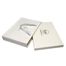 Coated Paper Bags With Foil Logo For Scarf
