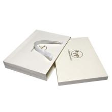 Bolsas de papel recubierto con logotipo de aluminio para bufanda