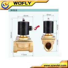 Brass solenoid valve 5V DC