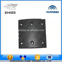 Китай шины поставщик запасные части 3502-00290 задние тормозные фрикционные накладки для yutong