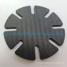 Durable minimalist 2.0mm carbon fiber ridge wallet