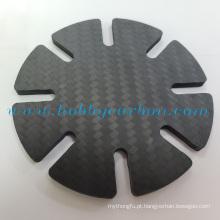 Carteira durável e minimalista em fibra de carbono de 2.0 mm