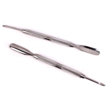 Hot sell cuticle pusher stainless steel with double ended