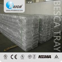 Peças da bandeja de cabo chapeadas zinco da rede de arame da fabricação de Besca com certificado