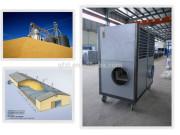 Cooling machine for steel grain silo